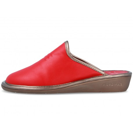 7399 Red Leather Nordikas