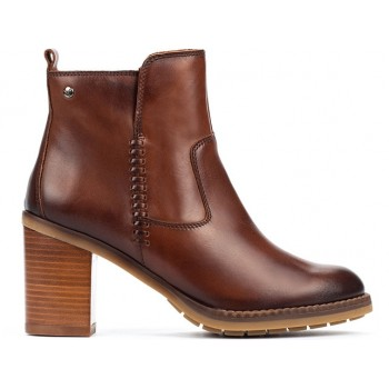 Pikolinos POMPEYA W9T-8594 Brown ankle boots for women