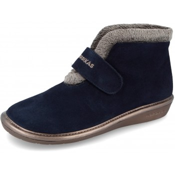 280 Suede Navy Blue Nordikas slippers for women