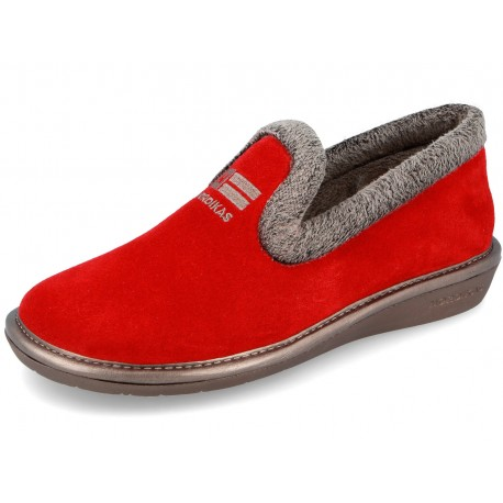 305 Suede Red Nordikas