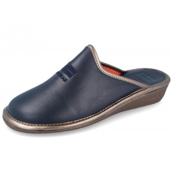281 Navy Leather Nordikas