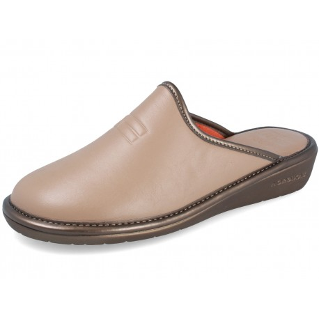 7399 DUBLIN TAUPE slippers for women
