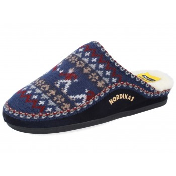 2502 CLASSIC NAVY BLUE SKATER slippers for men