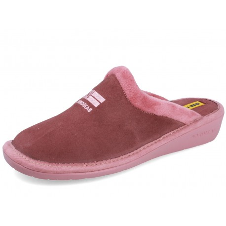238 SUEDE NUDE slippers for women