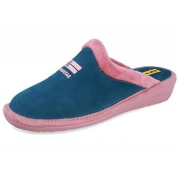 238 VELOUR PETROL chaussures pour femmes