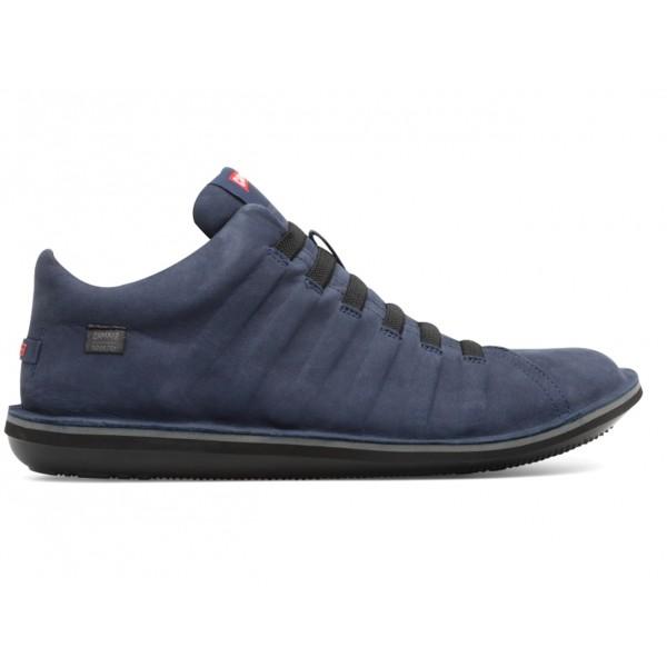 K300005-018 Beetle blue sneakers for men