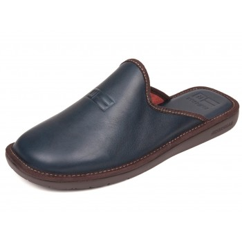188 Navy Leather Nordikas