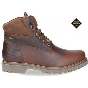 AMUR GTX C10 NAPA GRASS CHESTNUT leather ankle boot for men