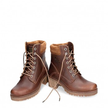 Phoebe B10 Napa Grass  leather Camper  boots for women