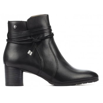 Heeled ankle boots for women Pikolinos CALAFAT W1Z-8635C1 BLACK