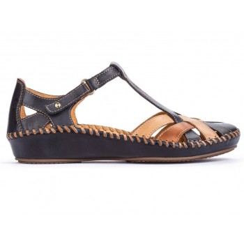 P. VALLARTA 655-0732C5 NAVY BLUE | BRANDY